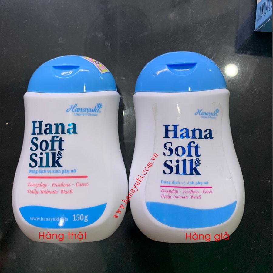dung dịch vệ sinh Hanayuki giả